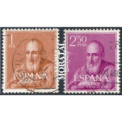 1960 Spain 939/940  Ribera  © Used, Nice  (Scott)