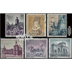 1961 Spain 1027/1032  Madrid  © Used, Nice  (Scott)