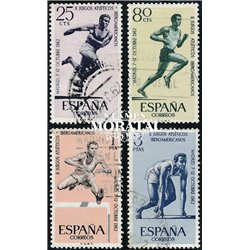 1962 Spanien 1342/1345  Spiele Iber. Sport © Gebrauchte, Zustand  (Michel)