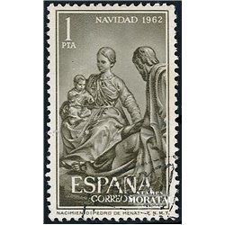 1962 Spain 1151 Christmas Christmas © Used, Nice  (Scott)