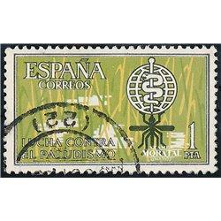 1962 Spanien 1374 Anti-malaria Wohltätigkeit © Gebrauchte, Zustand  (Michel)