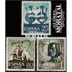 1963 Spain 1174/1176  Hispanic  © Used, Nice  (Scott)