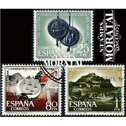 1963 Spain 1177/1179  Saint Sebastian  © Used, Nice  (Scott)