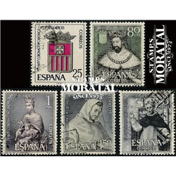 1963 Spanien 1413/1417  Die Gnade  © Gebrauchte, Zustand  (Michel)