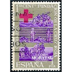 1963 Spanien 1427 Rotes Kreuz Wohltätigkeit © Gebrauchte, Zustand  (Michel)