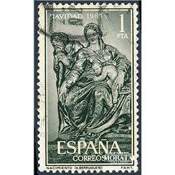 1963 Spain 1196 Christmas Christmas © Used, Nice  (Scott)