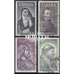 1963 Spanien 1430/1433  Persönlichkeiten Persönlichkeiten © Gebrauchte, Zustand  (Michel)