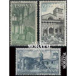 1964 Spain 1212/1214  Huerta Monastery-Tourism © Used, Nice  (Scott)