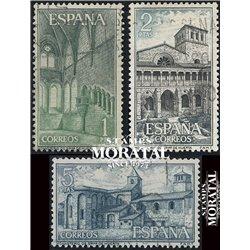 1964 Spanien 1440/1442  Huerta Kloster-Tourismus © Gebrauchte, Zustand  (Michel)