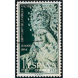 1964 Spanien 1480 Macarena Religiös © Gebrauchte, Zustand  (Michel)