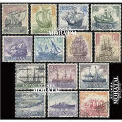 1964 Spain 1248/1261  Marine Boats © Used, Nice  (Scott)