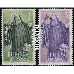 1965 Spain 1313/1314  Europe Europe © Used, Nice  (Scott)