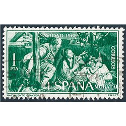 1965 Spanien 1585 Weihnachten Weihnachten © Gebrauchte, Zustand  (Michel)