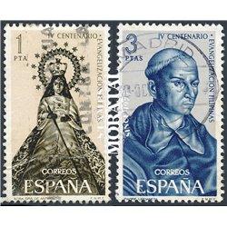 1965 Spanien 1587/1588  Philippinen  © Gebrauchte, Zustand  (Michel)