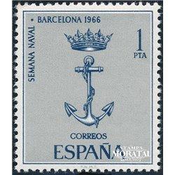 1966 Spain 1364 Naval Barna Boats © Used, Nice  (Scott)