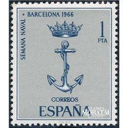 1966 Spain 1364 Naval Barna Boats © Used, Nice  (Scott)