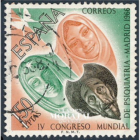 1966 Spain 1373 Psychiatry Medecine © Used, Nice  (Scott)