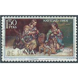 1966 Spain 1391 Christmas Christmas © Used, Nice  (Scott)