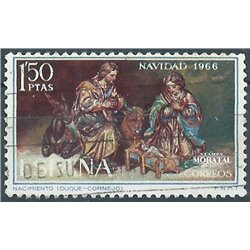 1966 Spanien 1659 Weihnachten Weihnachten © Gebrauchte, Zustand  (Michel)