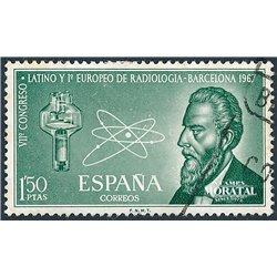 1967 Spanien 1676 Radiologie Madizin © Gebrauchte, Zustand  (Michel)