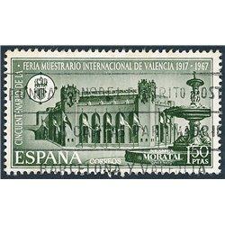 1967 Spanien 1684 Valencia FIM Ausstellung © Gebrauchte, Zustand  (Michel)