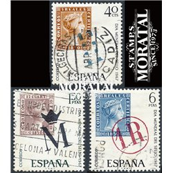 1967 Spain 1468/1470  Day of the stamp Philately © Used, Nice  (Scott)