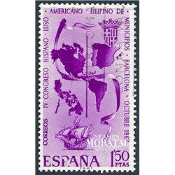1967 Spanien 1710 Gemeinden  © Gebrauchte, Zustand  (Michel)