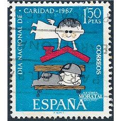 1967 Spanien 1688 Nächstenliebe Wohltätigkeit © Gebrauchte, Zustand  (Michel)