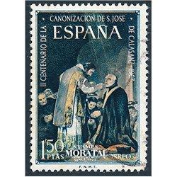 1967 Spanien 1731 Calasanz Persönlichkeiten © Gebrauchte, Zustand  (Michel)
