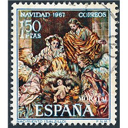 1967 Spain 1508 Christmas Christmas © Used, Nice  (Scott)