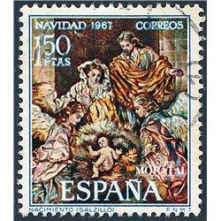 1967 Spanien 1732 Weihnachten Weihnachten © Gebrauchte, Zustand  (Michel)