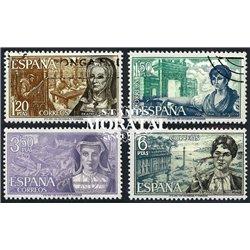 1968 Spanien 1750/1753  Frauen-Persönlichkeiten Persönlichkeiten © Gebrauchte, Zustand  (Michel)