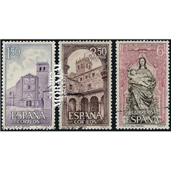 1968 Spain 1552/1554  Santa Maria Monastery-Tourism © Used, Nice  (Scott)