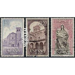 1968 Spanien 1788/1790  Santa Maria Kloster-Tourismus © Gebrauchte, Zustand  (Michel)