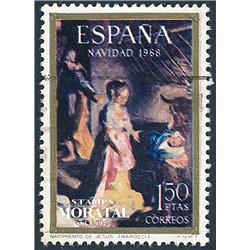 1968 Spanien 1791 Weihnachten Weihnachten © Gebrauchte, Zustand  (Michel)