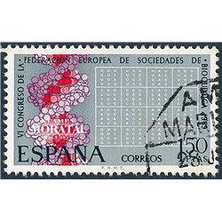 1969 Spain 1566 Biochemistry Medecine © Used, Nice  (Scott)