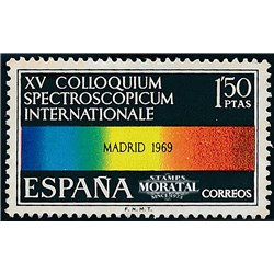 1969 Spain 1570 Spectroscope  © Used, Nice  (Scott)