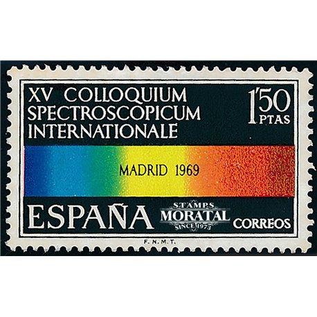 1969 Spain 1570 Spectroscope  © Used, Nice  (Scott)