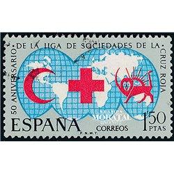 1969 Spanien 1813 Rotes Kreuz Wohltätigkeit © Gebrauchte, Zustand  (Michel)
