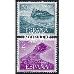 1969 Spain 1579/1580  Gibraltar  © Used, Nice  (Scott)