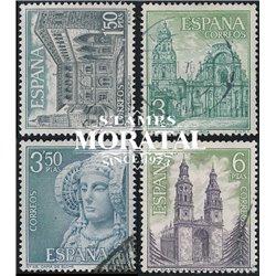 1969 Spanien 1825/1828  Touristischen VI Tourismus © Gebrauchte, Zustand  (Michel)