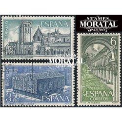 1969 Spanien 1840/1842  Huelgas Kloster-Tourismus © Gebrauchte, Zustand  (Michel)