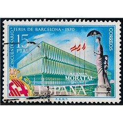 1970 Spain 1609 Barcelone Fair Exposition © Used, Nice  (Scott)