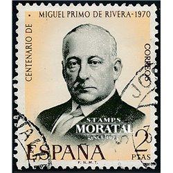 1970 Spain 1610 Primo Rivera Personalities © Used, Nice  (Scott)