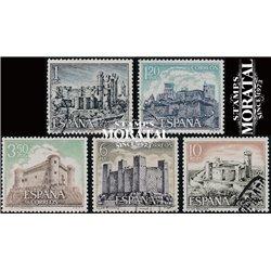 1970 Spain 1611/1615  Castles V Castles © Used, Nice  (Scott)
