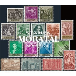[20] 1959 Spain  Year Set Complete **MNH LUXURY   Stamps in Perfect Condition. LUXE ()