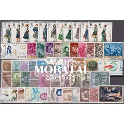 [20] 1968 Spain Year Set Complete **MNH LUXURY   Stamps in Perfect Condition. LUXE