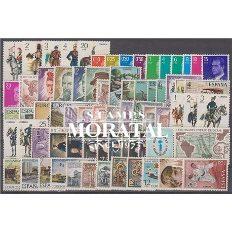 [20] 1977 Spain Year Set Complete **MNH LUXURY   Stamps in Perfect Condition. LUXE