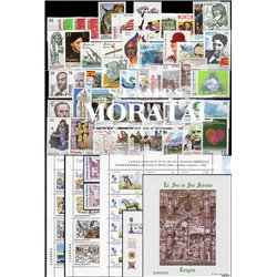 [20] 1998 Spain  Year Set Complete **MNH LUXURY   + 5 Sheets Stamps in Perfect Condition. LUXE ()