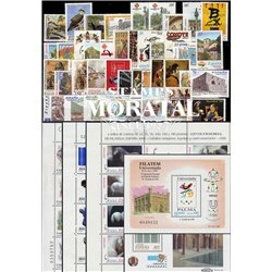 [20] 1999 Spain  Year Set Complete **MNH LUXURY   + 5 Sheets Stamps in Perfect Condition. LUXE ()
